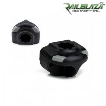 Основа за стойка за вертикален монтаж черна Railblaza SidePort BLK - 03-4014-11-BLK