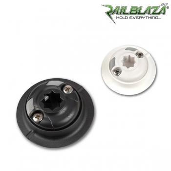 Самозалепваща нископрофилна основа Railblaza QuikPort черна - 03-4087-11 BLK