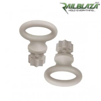 Чифт бели овални халки Railblaza WebEye30 Pair WH - 02-4005-21-WH