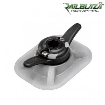 Комбинирана основа за стойка Railblaza RIBPort за балона на надуваемите лодки с CleatPort клин за въже - 03-4066-51-GR