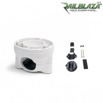 Бяла основа за релинг Railblaza RailMount 19-25 с лесен монтаж - 03-4011-21-WH