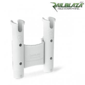 Бяла двойна стойка за въдици Railblaza RodStow Double WH - 09-0010-21
